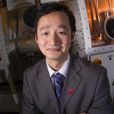 Jinsong Huang, Susan J. Rosowski associate professor of mechanical and materials engineering