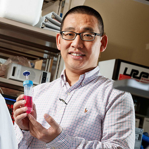 "Yuguo ""Leo"" Lei, assistant professor of chemical and biomolecular engineering."