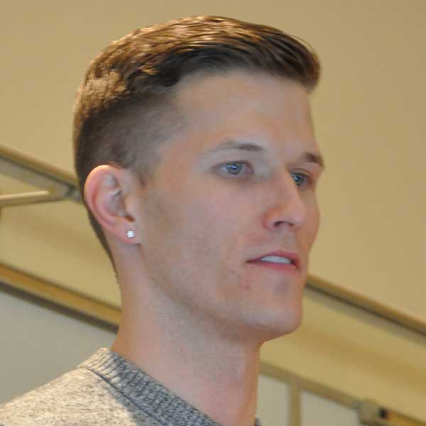 Eric Lueshen, a UNL chemical engineering graduate and former Husker kicker, is co-founder of the LGBT SportSafe Inclusion Program.