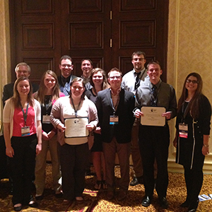 A team of UNL student engineers earned a $7,500 award from NCEES for its design work on a vertical farm project for an AEI competition.