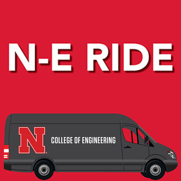 Beginning Sept. 23, the College of Engineering is increasing the N-E Ride shuttle service between Lincoln and Omaha.