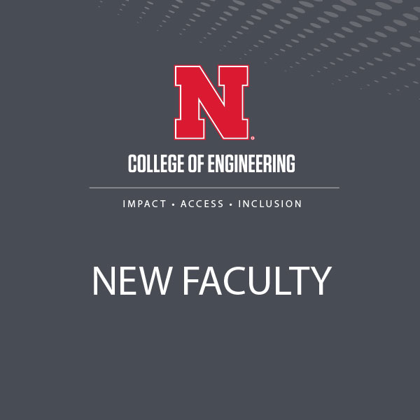 The College of Engineering has 10 new faculty starting in the Fall Semester 2017-18.