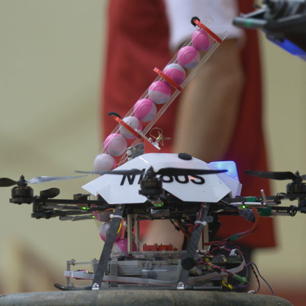 The NIMBUS Lab is using drone technology to develop systems that can start controlled burns that are used to fight wildfires.