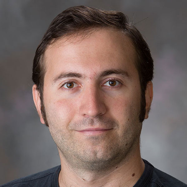 Christos Argyropoulos, assistant professor of electrical and computer engineering.