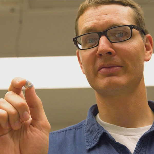 Ben Terry, assistant professor of mechanical and materials engineering.