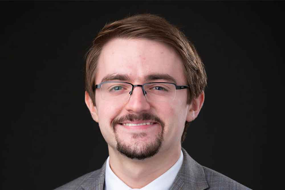 Sam Underwood, graduate student in architectural engineering, received a Phi Kappa Phi fellowship.