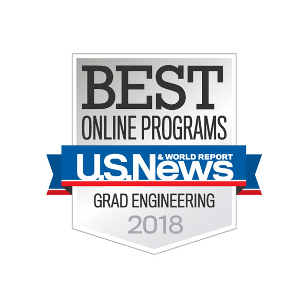 The College of Engineering's Online Master of Engineering Management program is again ranked among the best in the nation in the U.S. News & World Report's 2018 Best Online Graduate Programs listing.