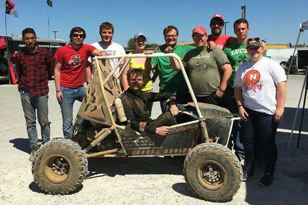 The Husker Racing Baja SAE team took fifth place out of more than 100 entrants in the College Design Series event in Cookeville, Tennessee, and competes again this weekend in Gorman, California.