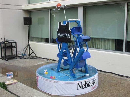 "The UNL Fountain Wars team took second place with its ""Space Jam""-themed entry in the competition at the ASABE conference in New Orleans."
