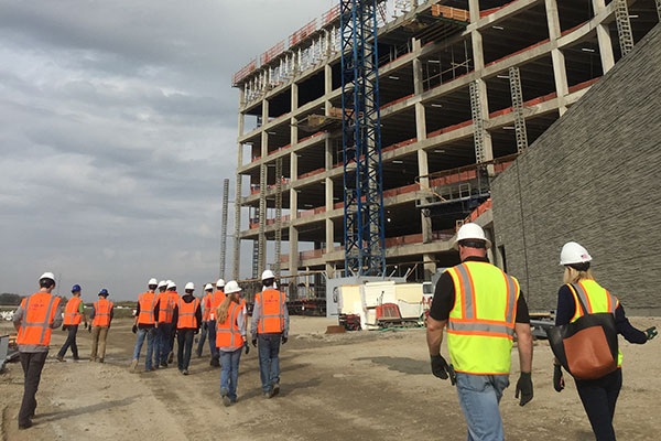 Construction Management Students Get Real World Experience In Kansas