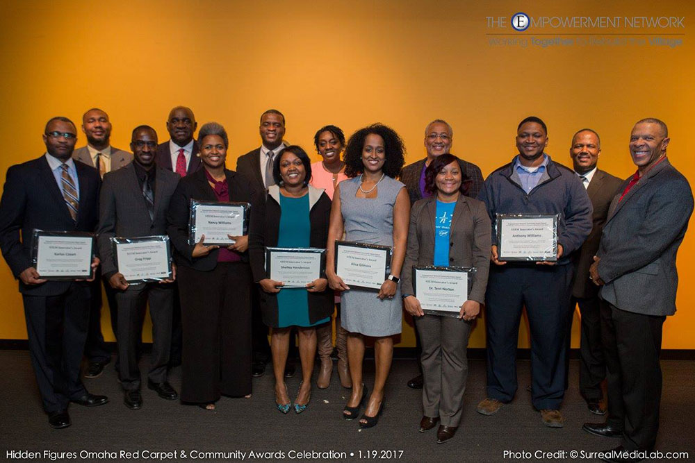 The Empowerment Network honored 12 African-American educators and mentors in Omaha for their work with youth in STEM fields.