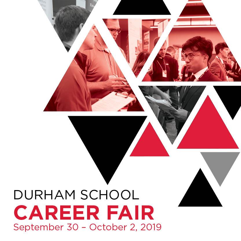 DURHAM SCHOOL Career Fair Sept 30-Oct 2