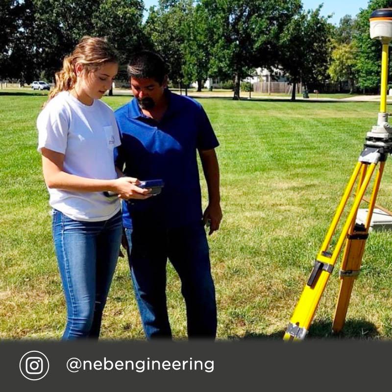 Instagram @NebEngineering - Tessa Yackley's journey to choosing a major in Civil Engineering.