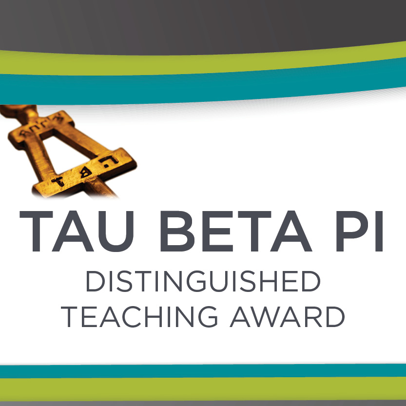 Vote Now: Tau Beta Pi Distinguished Teaching Award