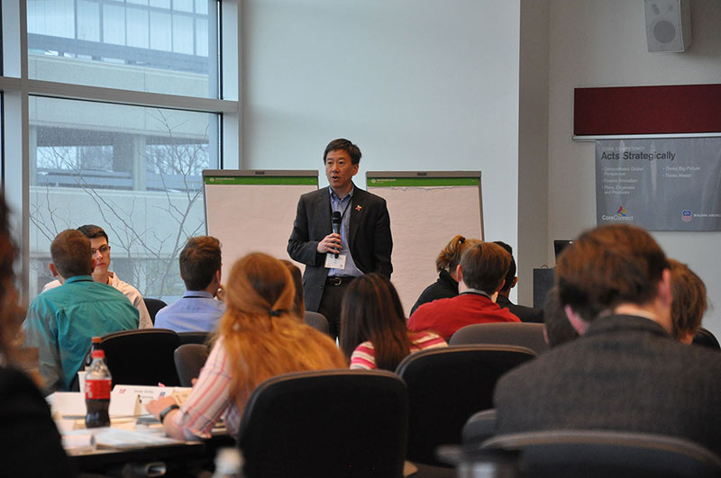 Nebraska Engineering Dean Wei presented at the 2016 Complete Engineer Conference