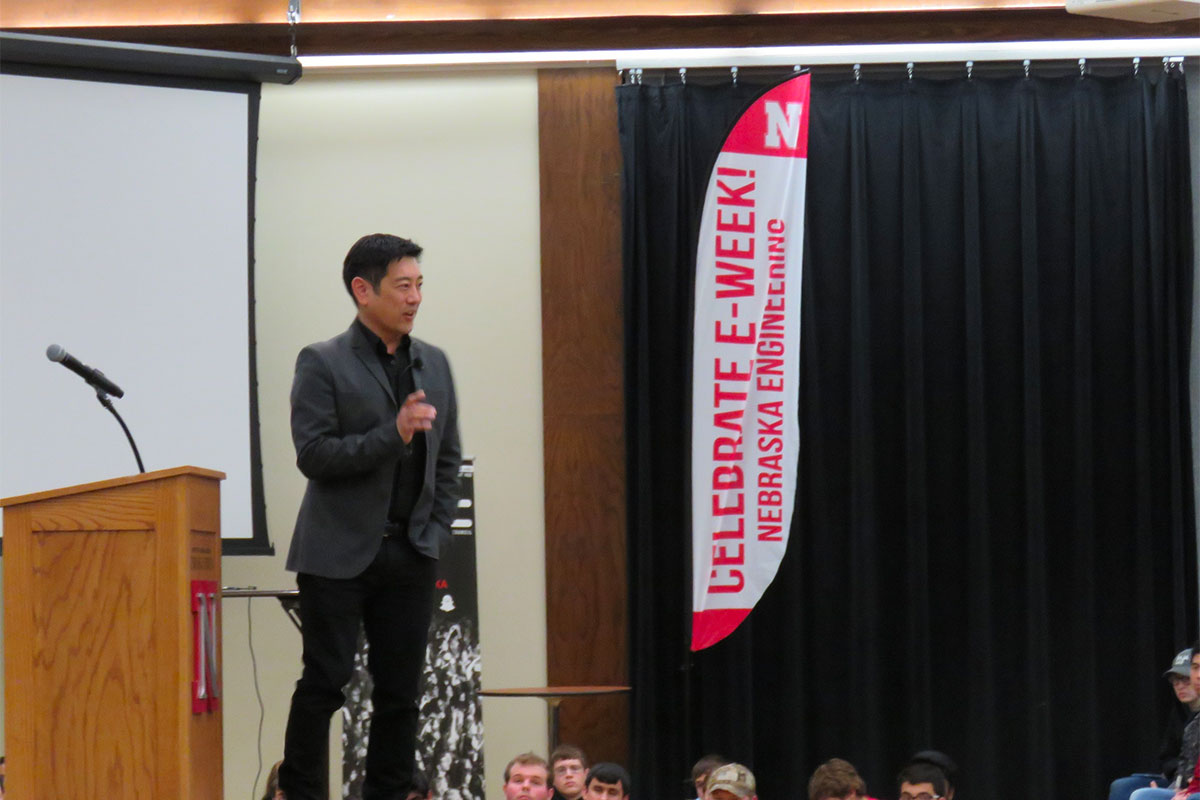 Grant Imahara from Mythbusters was our E-Week 2017 guest of honor.