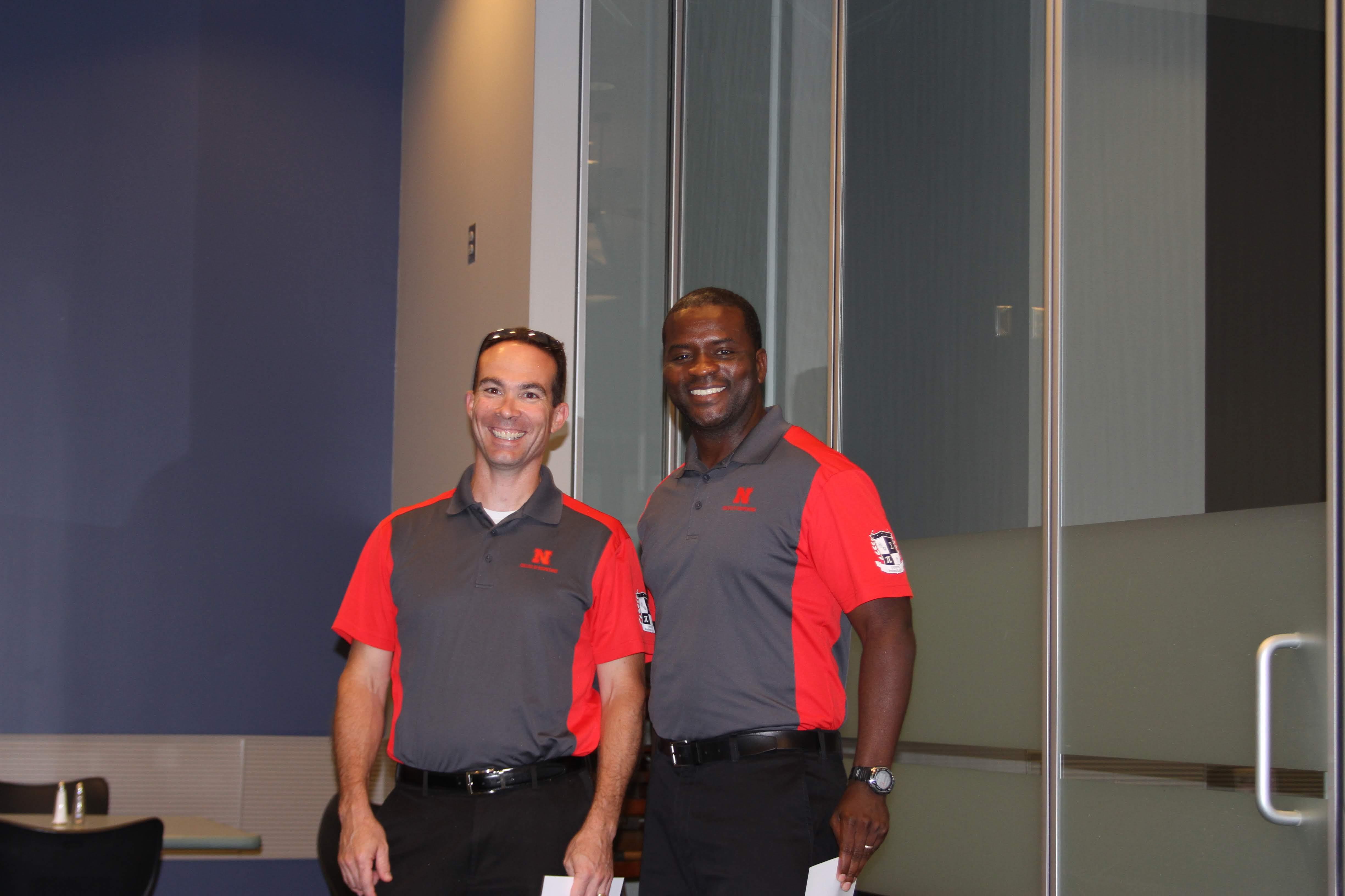 ERA instructors Dr. Richter-Egger and Dr. Nero