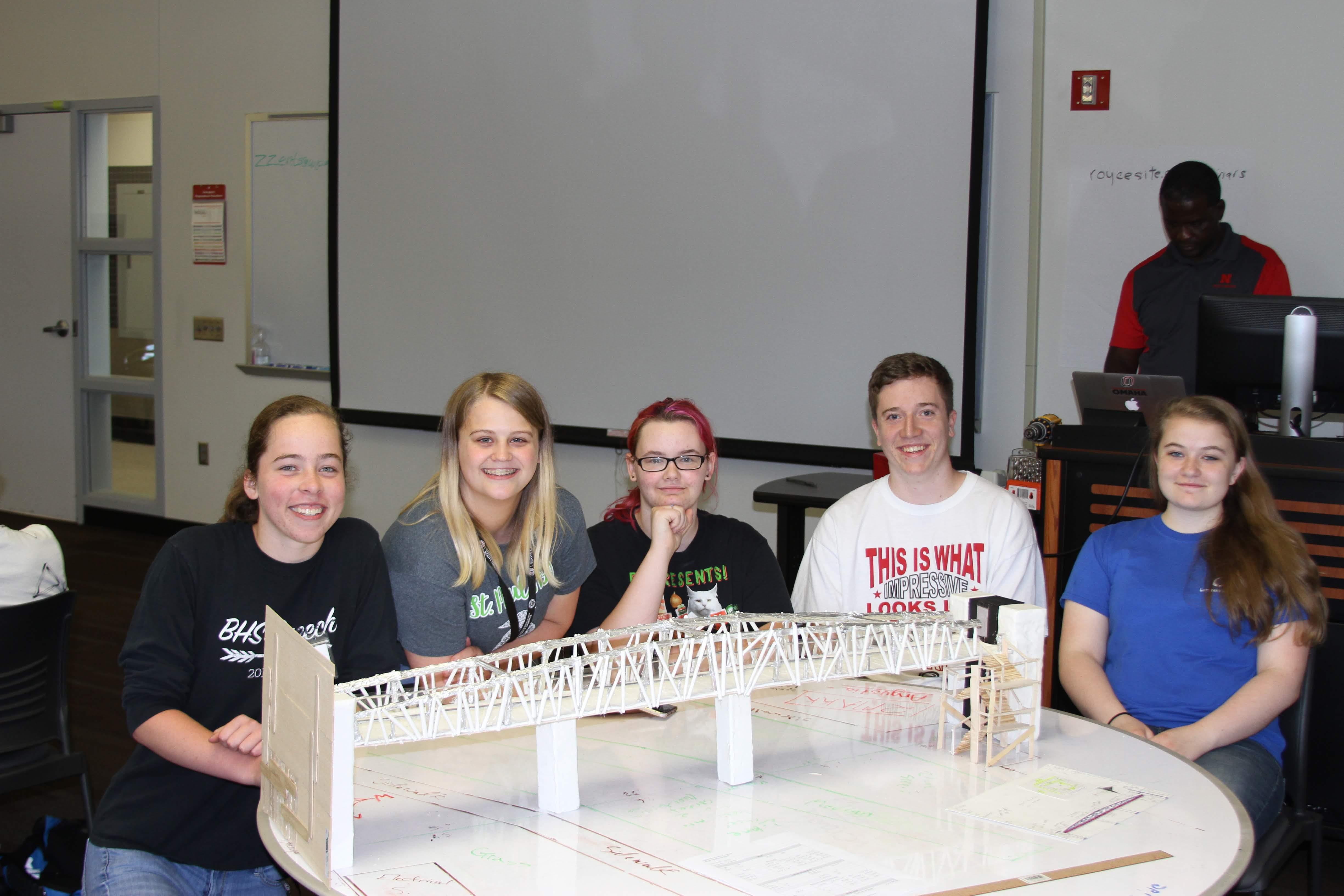 Winners of the Team Pedestrian Bridge Design