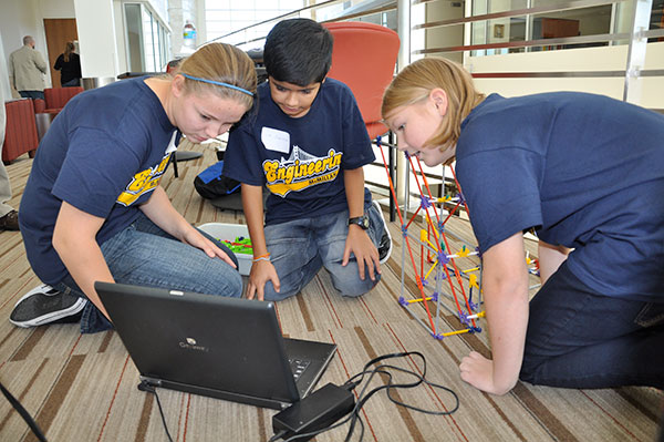 PLTW Gateway students in action