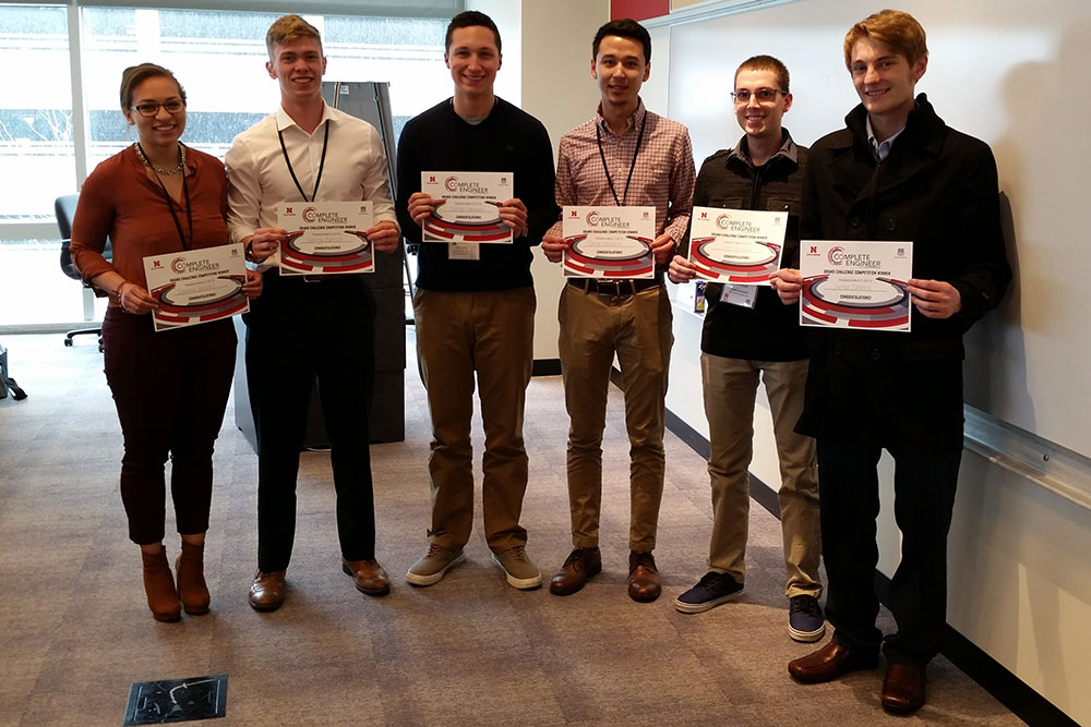 The Winning Team of the 2017 Complete Engineer Conference Grand Challenge Competition