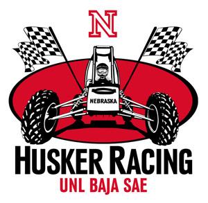 Husker Racing - UNL Baja SAE Logo