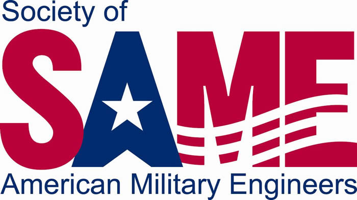 Society of American Military Engineers (SAME) logo