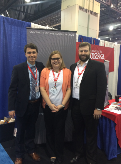 Joey, Iverson, and Eric at the BMES national conference in Philadelphia (October 2019)
