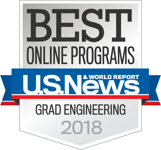 Best Online Programs - US News and World Reports - Grad Engineering 2018