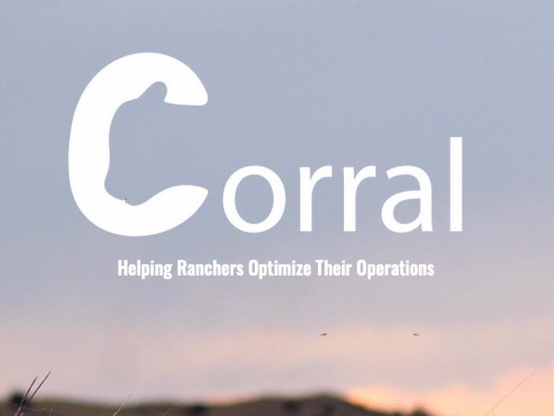 Corral logo: Helping Ranchers Optimize Their Operations.