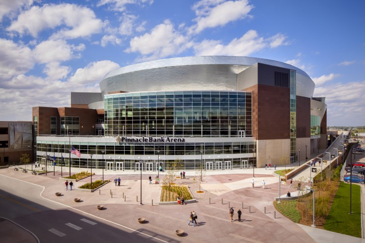 DLR Group Pinnacle Bank Arena project in Lincoln, NE