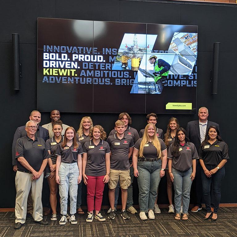 Kiewit Scholars group photo.
