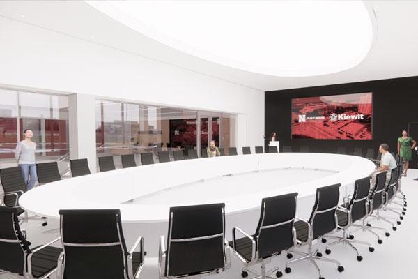 Kiewit Hall Interior - Board Room