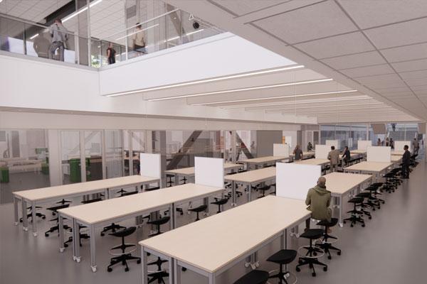 Kiewit Hall Interior - Classroom