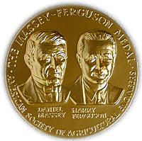 Massey-Ferguson medal