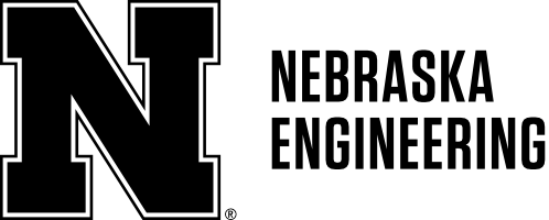 Black N to left of Nebraska Engineering in two rows Word Mark