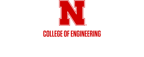 Red N over Nebraska Engineering Word Mark