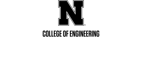 Black N over Nebraska Engineering Word Mark