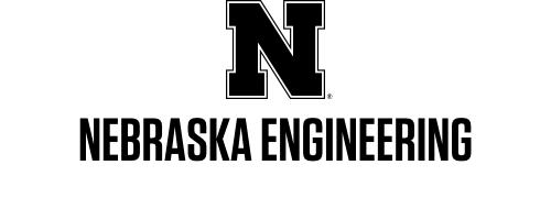 Black N over Nebraska Engineering in one row Word Mark