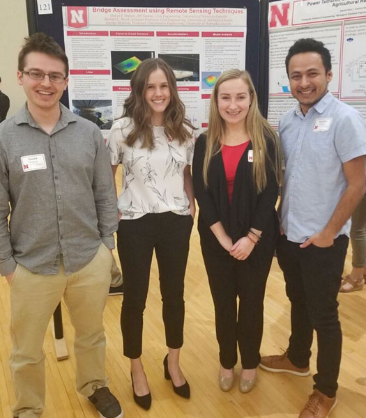 Sussan Moussavi at the UNL Spring Research Fair