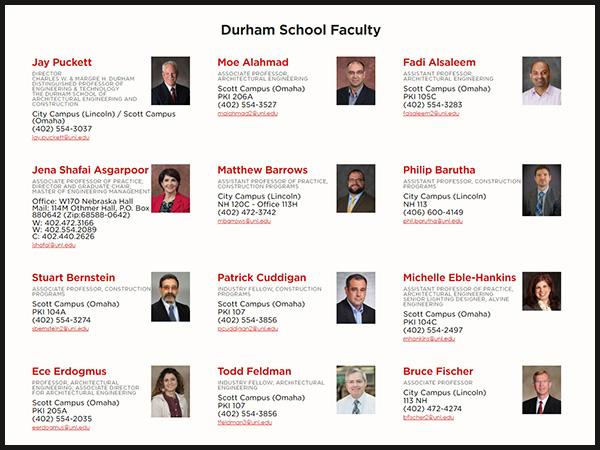 Durham School Directory