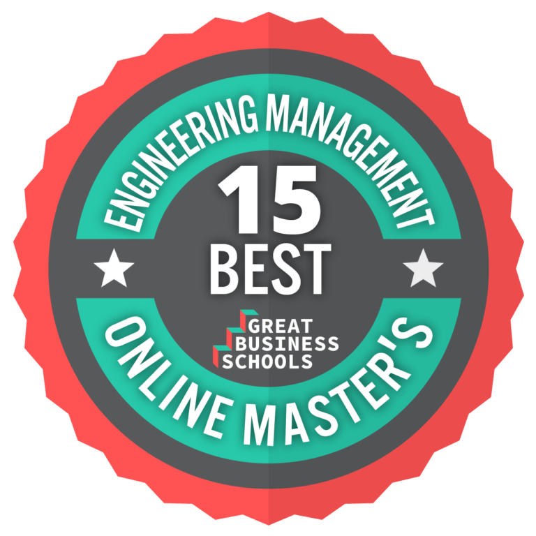 15 Best Great Business Schools: Engineering Management Online Masters