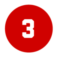 The number three inside a red circle