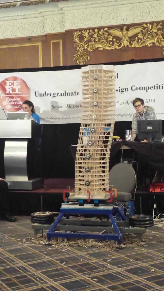 UNL Seismic Design Team - 2015 Tower