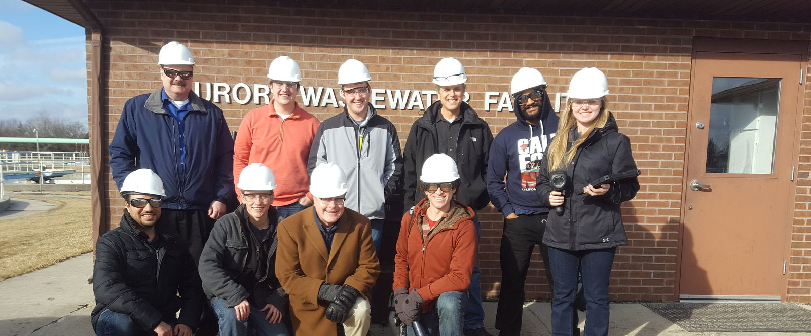 Picture of the NIAC team during one of their site visits
