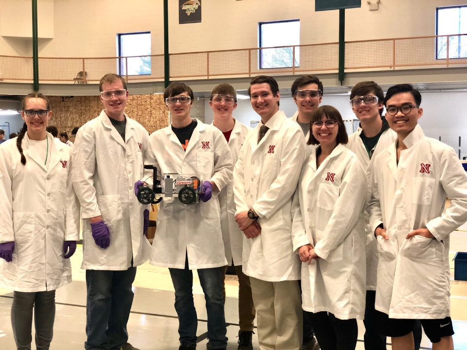2019 UNL Chem-E Car Team