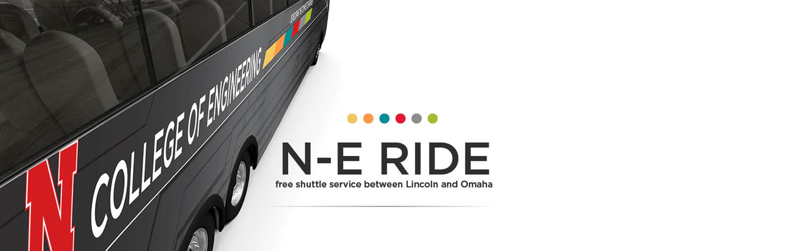 N-E RIDE free shuttle service for engineering and NU