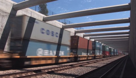 UNL professors have designed a wireless system to monitor rail components in real time.