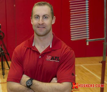 Curt Tomasevicz, Olympic bobsled gold medalist and former Husker football player, is working on his doctorate while teaching a new engineering class.