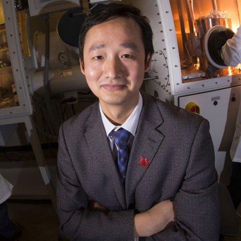 Jinsong Huang, Rosowski professor and graduate chair of materials engineering