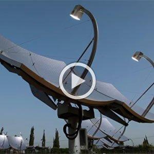 Image of satellites pointing upward